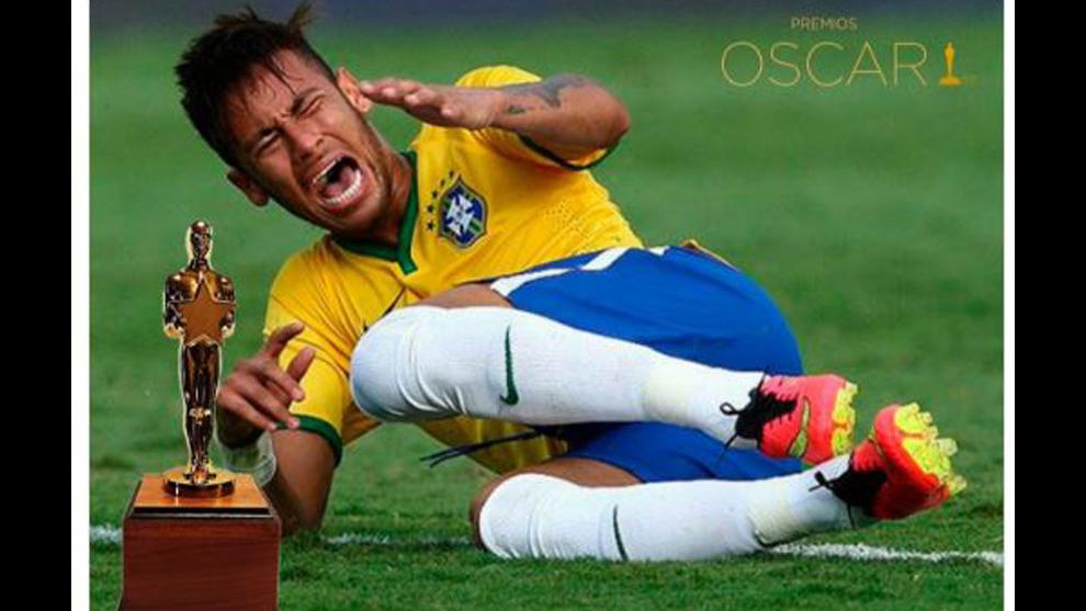 Neymar viral por actor